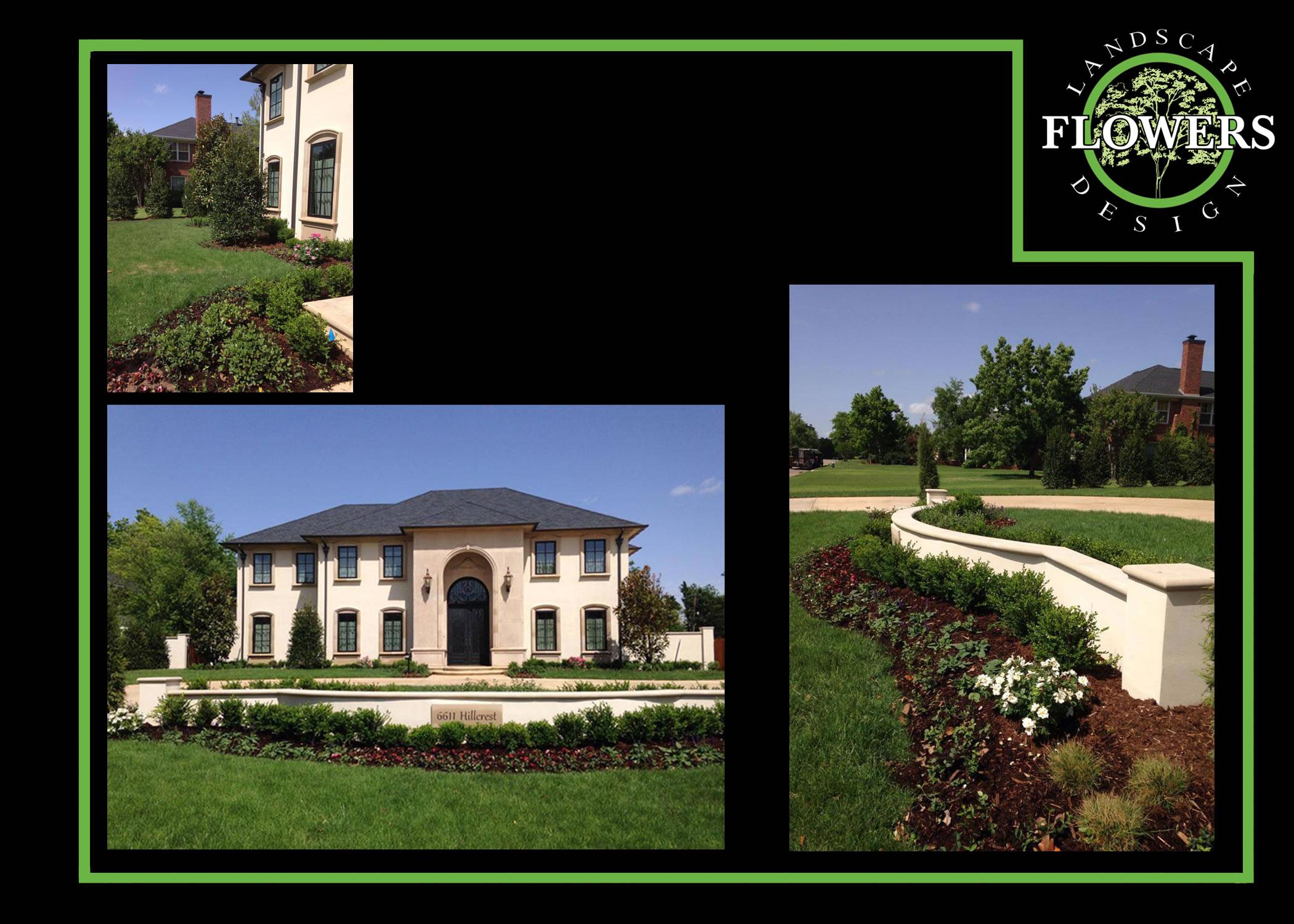 Landscape image gallery flowers landscape design Garden homes edmond ok