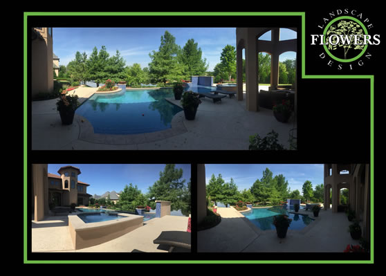 Pool and landscape design and installation.
